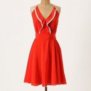 """Anthropologie """"Girl from Savoy"""" Wing Dress"""
